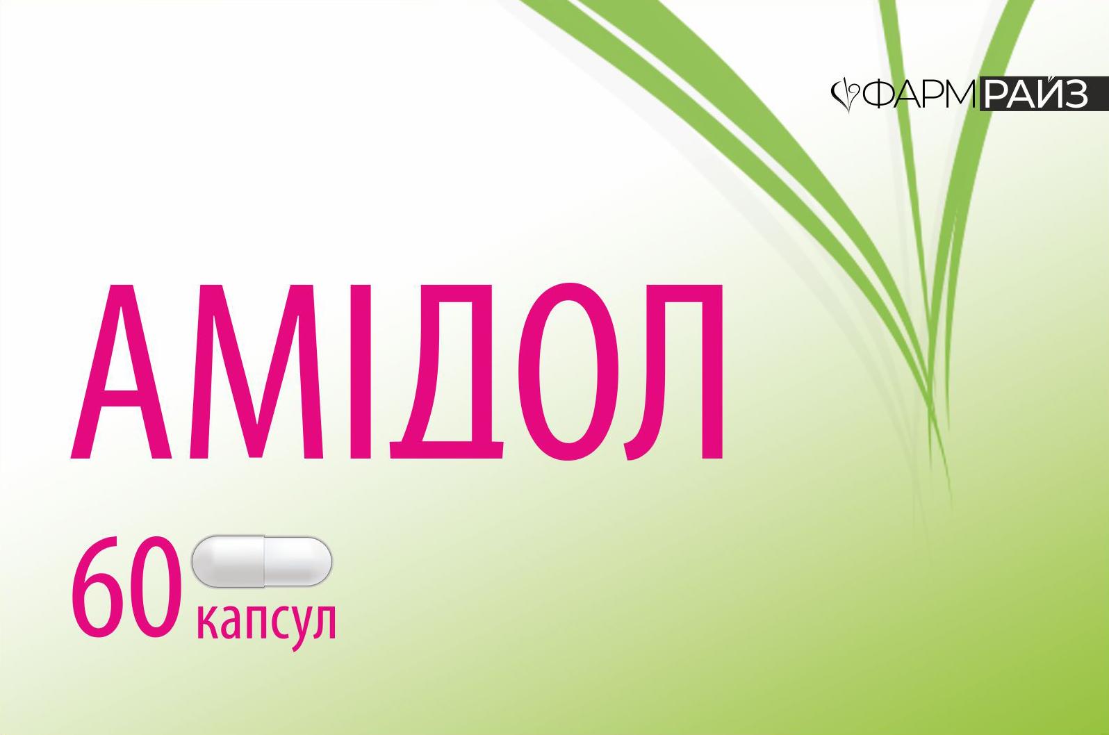Упаковка препарату Амідол